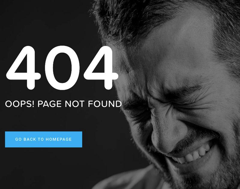404 website hosting